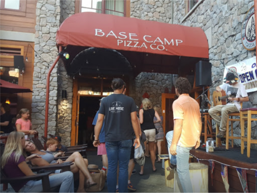 This Sunday,August15 Base Camp Pizza | 5:00PM – 9:30PM